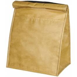 Izolowana torba na lunch lub 12 puszek Paper Bag
