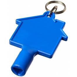 Klucz do skrzynek w kształcie domku Maximilian z brelokiem