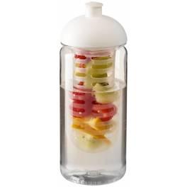 Bidon Octave Tritan™ o pojemności 600 ml z wypukłym wieczkiem z możliwością przyrządzania wody smakowej
